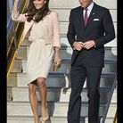 People tendance mode kate middleton canada robe rose