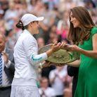 Kate Middleton lors de la finale dames de Wimbledon