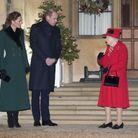 Kate et William face à la reine