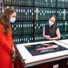 Visite des archives