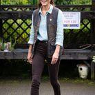 Kate Middleton arrive dans une jardinerie du Norfolk