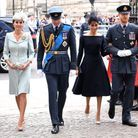 Kate Middleton, le prince William, Meghan Markle et le prince Harry