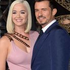 Katy Perry et Orlando Bloom affichent de larges sourires devant les photographes