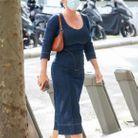 Katy Perry en sortie shopping dans Paris