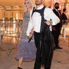 Katy perry et Orlando Bloom au dîner Louis Vuitton à Paris