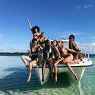 Une joyeuse bande de copines en vacances