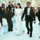 Kim Kardashian et Kanye West, main dans la main