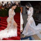 La robe en dentelle