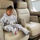 Elle voyage en jet privé depuis son plus jeune âge