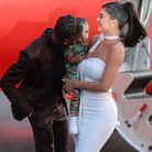Travis Scott embrasse sa fille