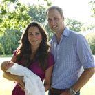 La première photo officielle, prise par le père de Kate.