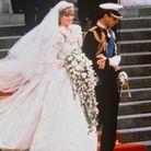 La robe 80's de la princesse Diana
