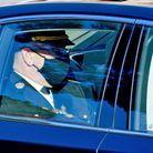 Le prince Albert de Monaco masqué a été aperçu près de la cathédrale de Monaco
