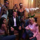 Le Macron et les danseurs de Kiddy Smile