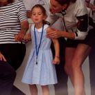 La princesse Charlotte est reprise par Kate Middleton