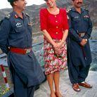 Diana à Peshawar, à la frontière avec l'Afghanistan