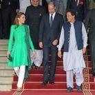 Kate Middleton porte une tunique Catherine Walker
