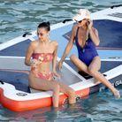 Bella Hadid et Laeticia Hallyday se sont retrouvées à Saint-Barth