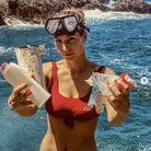 Laury Thilleman s'est engagée pour lutter contre la pollution des mers et des océans