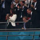 Le prince George fou de joie au moment du but de l'Angleterre