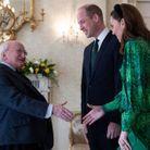 Will et Kate rencontre le président Higgins