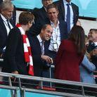 Le prince William a salué la famille royale du Danemak