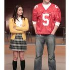 """Rachel Berry et Finn Hudson dans """"Glee"""""""