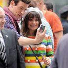 """Sur le tournage de """"Glee"""", à New York"""
