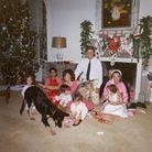La famille Kennedy fête Noël à la Maison Blanche