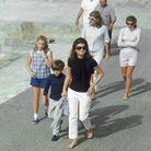 Promenade pour la famille Kennedy