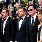 Avec Quentin Tarantino et Margot Robbie