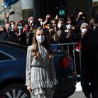 Leonor face à la foule