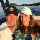 Selfie sur le lac
