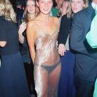 A la soirée Elite Look of the Year Contest, à Londres, en septembre 1993.
