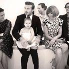 Harper Beckham au premier rang de la Fashion Week
