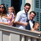Hugo Lloris et sa famille