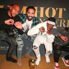 Steven Nzonzi, Adil Rami, Paul Pogba et Samuel Umtiti sont sortis en boite de nuit à Los Angeles