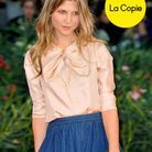 People diaporama originale copie actrice frenchy hollywood Clemence  Poesy