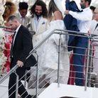 Heidi Klum et Tom Kaulitz quittent leur cérémonie de mariage
