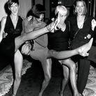 Ambiance festive pour Linda Evangelista, Naomi Campbell, Polly Mellen et Christy Turlington à la soirée annuelle «Night of 100 Stars».