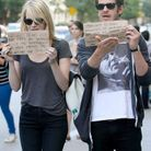Emma Stone et Andrew Garfield manipulent les paparazzis