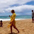 Beyoncéà la plage