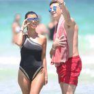 Kourtney Kardashianà la plage