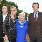 Line Renaud, Claude Chirac, son fils Martin Rey-Chirac et son mari Frédéric Salat-Baroux