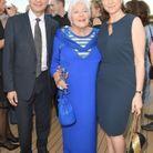 Line Renaud, la ministre des Solidarités et de la Santé Agnès Buzyn et son mari Yves Levy