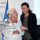 Line Renaud et Agnès Buzyn