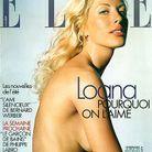 Loana en couverture du magazine ELLE