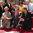 En 2013, à l'inauguration de l'étoile de bryan Cranston sur le Walk of Fame