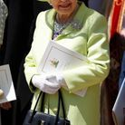 La reine Elizabeth II était très souriante