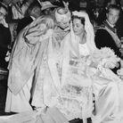 Paola et la reine Elizabeth Bowes-Lyon